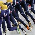 SKorea wins gold in relay; Celski moves on in 500