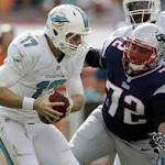 Dolphins end Patriots dominance with late stand
