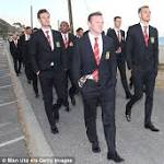 Louis van Gaal starts Manchester United's pre-season tour with trip to the beach