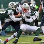 Patriots prevailed over Jets, but their roles seemed reversed