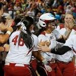WCWS: Lauren Chamberlain's 12th-inning homer gives OU a win over Tennessee