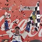 Jimmie Johnson Wins Coca-Cola 600