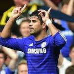 Diego Costa's hat trick powers Chelsea to 4th straight EPL win