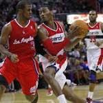 Wizards cool off red-hot Clippers, 104-96