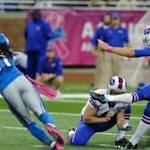 Lions cut kicker Alex Henery