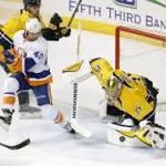 Islanders win 4-3, send Predators to 5th straight loss