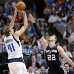 GIF Breakdown: Spurs at Dallas Mavericks