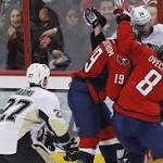 Joel Ward's late goal sparks Capitals to 3-1 win over Penguins