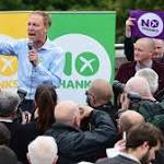 Brown emphasises 'love for Scotland' in call for No vote