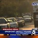Officer shot, suspect killed in San Bernardino