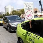 Ridesharing companies now regulated by California