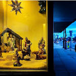 Is a McDonald's window Nativity part of the 'Christmas wars'?