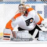 Flyers' Michal Neuvirth out 3 weeks with lower-body injury