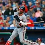 Harper, Ross help Nats top Phillies 9-1 for record start (Apr 15, 2016)