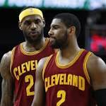 Kyrie Irving to Sit Out Tonight Against the Pacers With Shoulder Injury
