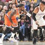 Russell Westbrook posts triple-double, but can't keep up with the Cavs on his own