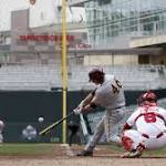 Hander Helps Huskers Stay Alive in Big Ten Tournament