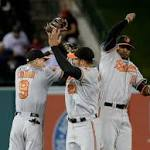 Adam Jones Defeats the Los Angeles Angels