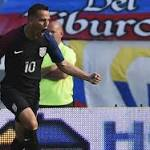 US ties Colombia 1-1 on Gil goal in Olympic playoff 1st leg