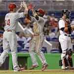 Christian Yelich delivers walk-off single for Marlins