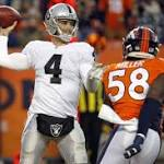 Anderson's 3 TD runs lead Broncos past Raiders 47-14 to earn first-round bye in ...