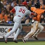 Botched play leads to another Phillies loss