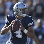 Dak Prescott impresses with stellar debut at QB for Cowboys
