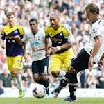 Swansea City lost against Tottenham Hotspur at White Hart Lane