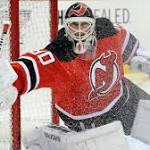 NHL scores: Brodeur makes 20 saves as Devils top Red Wings
