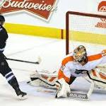 Zepp's odyssey results in first NHL win with Flyers