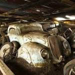Amazing collection of 60 classic cars uncovered after four decades