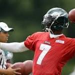 Michael Vick starting leaves the future of Nick Foles very much up in the air