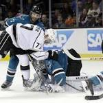 San Jose Sharks beat Los Angeles Kings in shootout