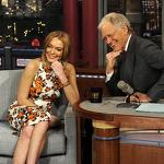 Lindsay Lohan on Late Show With David Letterman: Nail or Fail?!