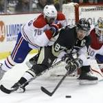 Canadiens top Penguins in wild game