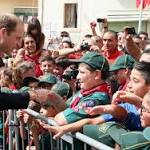 The Duke Of Cambridge Visits Malta - Day 2