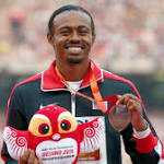 Months after kidney transplant, top hurdler Aries Merritt chasing Rio berth