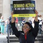 Rally supports gun background checks
