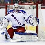 Talbot's 38 saves help Rangers secure win