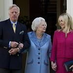 Two wives of Sir Mark Thatcher to attend funeral of his mother at her request