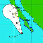 Tropical Storm Ivo expected to bring Ariz. storms