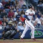 Freeman, Upton homer as Braves beat Brewers 9-3