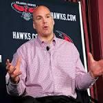 Danny Ferry steps down as Hawks GM