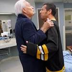 Adam Sandler, Bob Barker Beat Each Other Up, Recreate Happy Gilmore Scene ...