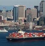 Company: Giant oil rig to be towed to Seattle this week