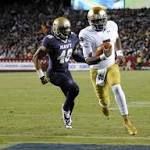 Navy's rally falls short against Notre Dame