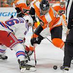 Flyers' Bellemare impressive against Rangers