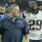 Blount Injury Leaves Patriots Extremely Thin At Running Back