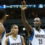 AP source: Timberwolves working on buyout with Garnett