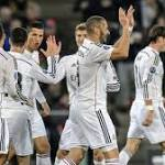 Record-equaling Ronaldo and Madrid keep on rolling